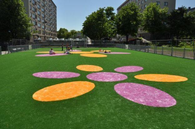 Quelques idées d'aménagement à réaliser avec la pelouse artificielle
